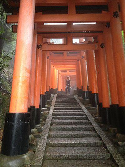 Kyoto Shrine in Japan
