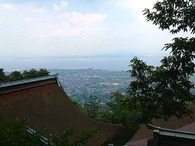 Mount Hiei outside of Kyoto Japan