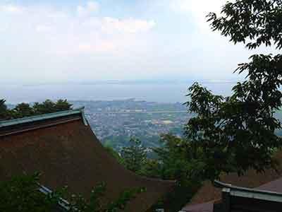 Mount Hiei outside of Kyoto Japan